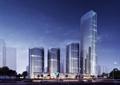商业综合体,综合建筑,高层办公,商业中心