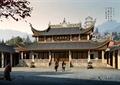 寺庙,庙宇,文化建筑,古建