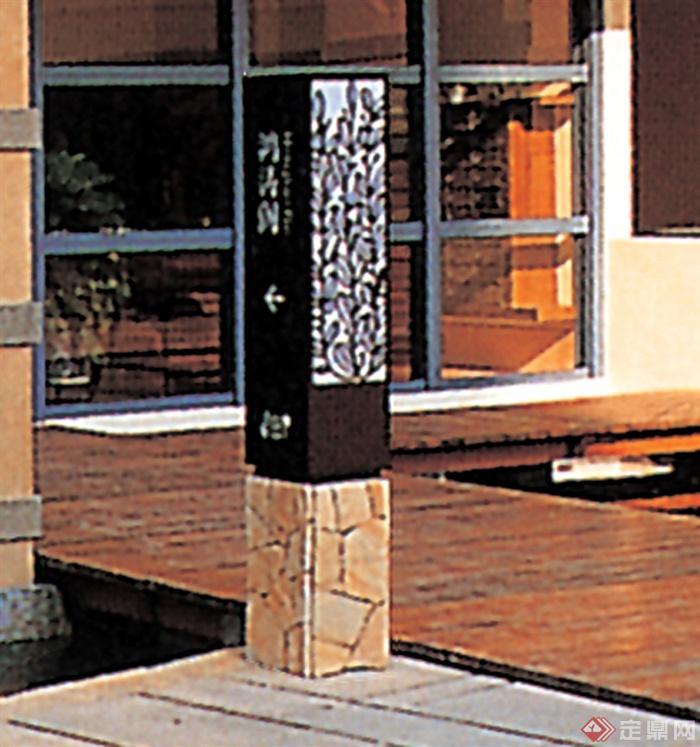 独立柱柜设计