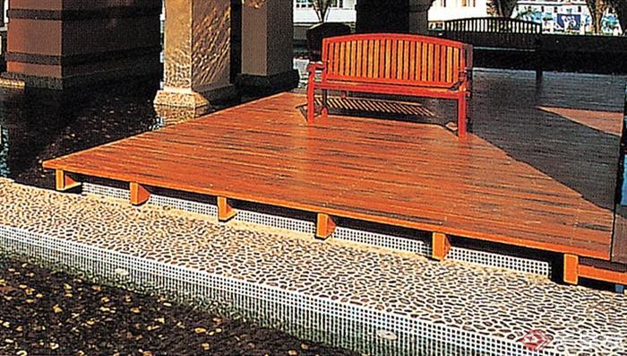 座椅,木平台