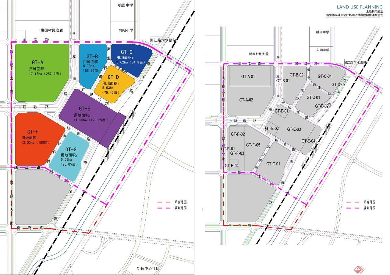 鹤壁高铁站区商住区规划