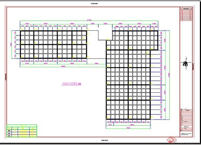 m60办公室建筑钢结构图纸(2)