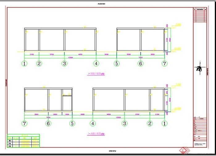 m60办公室建筑钢结构图纸(4)