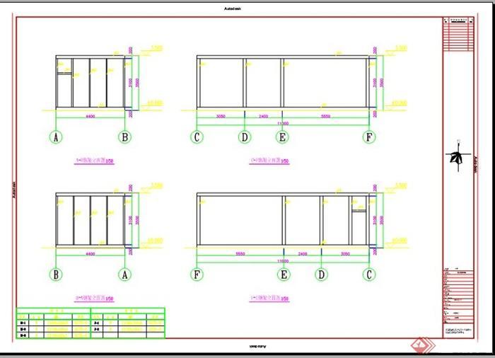 m60办公室建筑钢结构图纸(5)