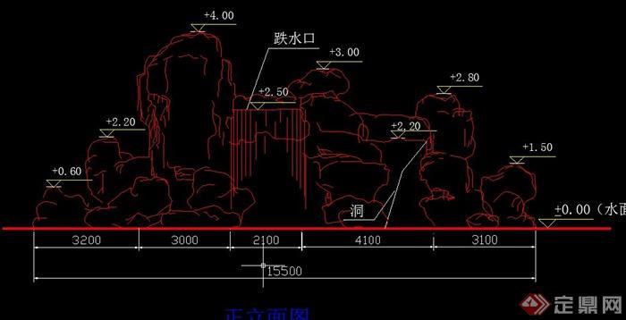 园林景观假山设计CAD施工图,该图纸内容有假山立面图、剖面图、剖面图等,图纸制作细致内容丰富,文字标志详细,具有一定的参考价值。