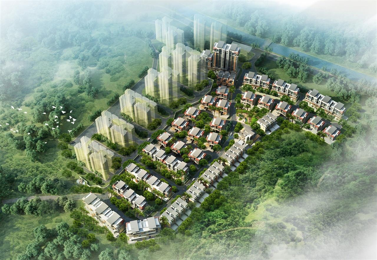别墅区规划建筑设计