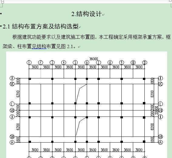 毕业设计——三层框架宿舍楼结构图及计算书[原创]