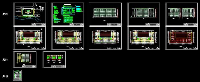 计算建筑结构图施工总平面图进度计划表)-7305平(2)