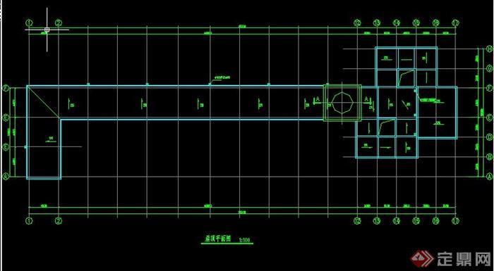 欧式拱形长廊施工图