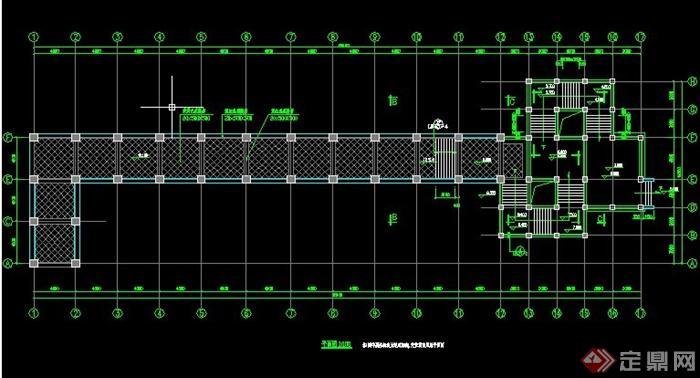 欧式拱形长廊施工图图片