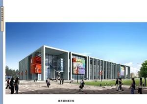 某市民文化中心规划设计方案文本