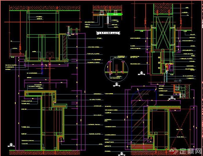高层康复医院室内设计施工图
