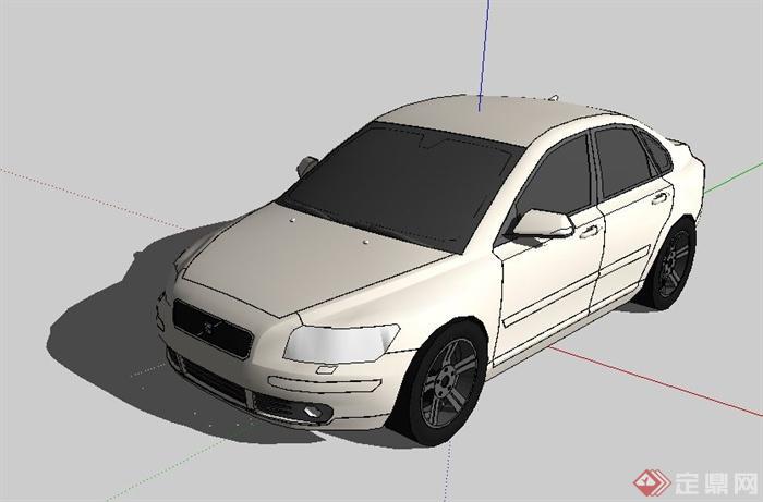 10款汽车su模型(3)