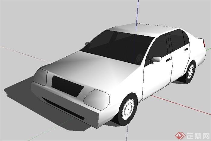 10款汽车su模型(5)