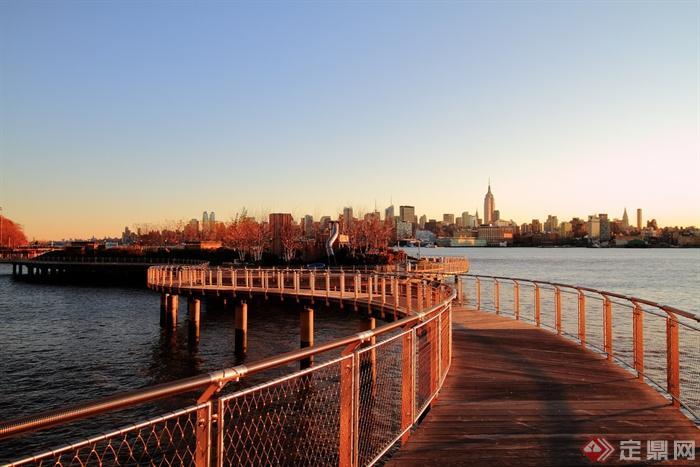 步行桥设计实景图-桥步行桥景观桥栈道-设计师图库
