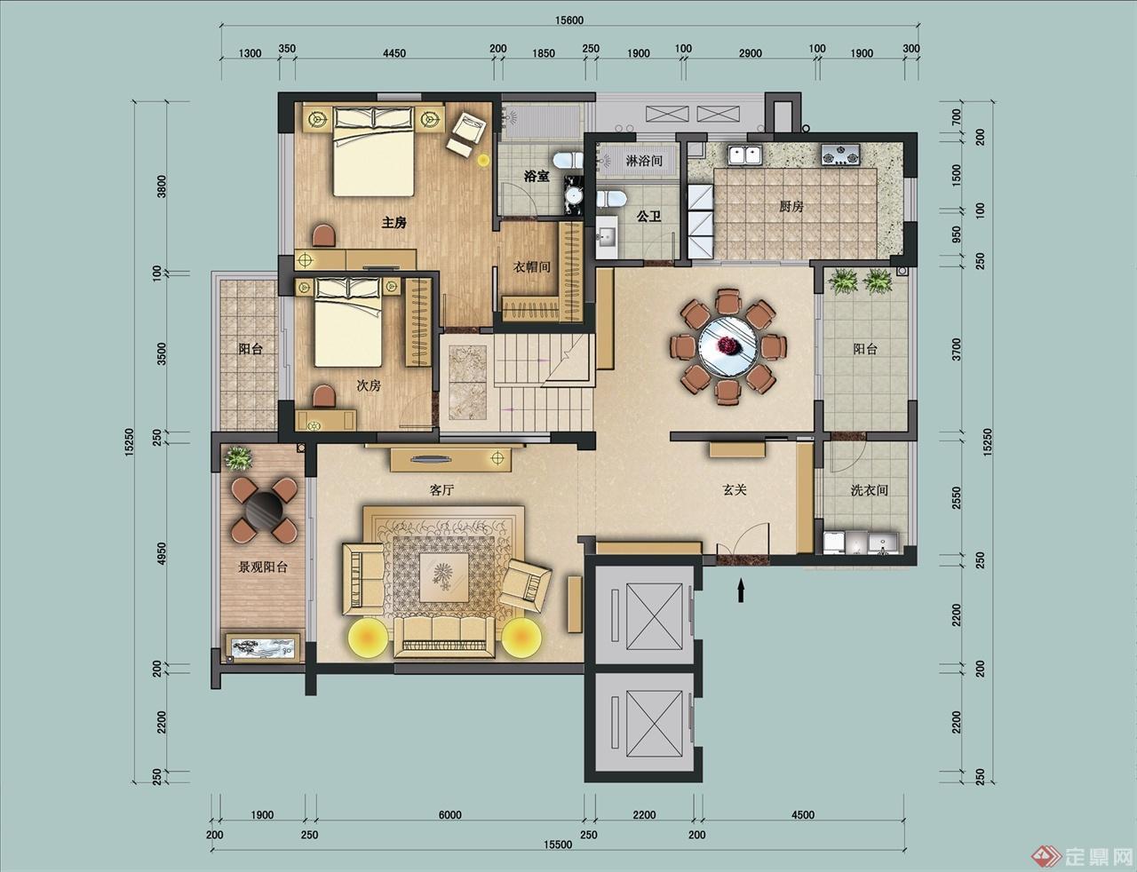 振业城室内设计案例