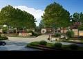 小區入口,標志墻,大門,圍墻,住宅景觀,種植池