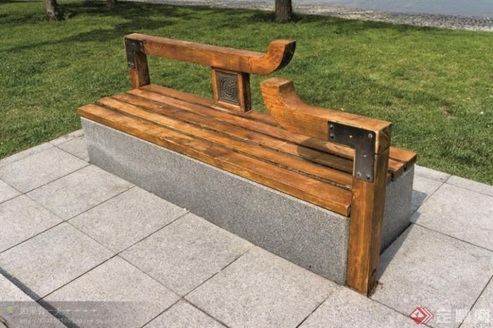 现代景观设计实景图及效果图-坐凳景凳-设计师图库