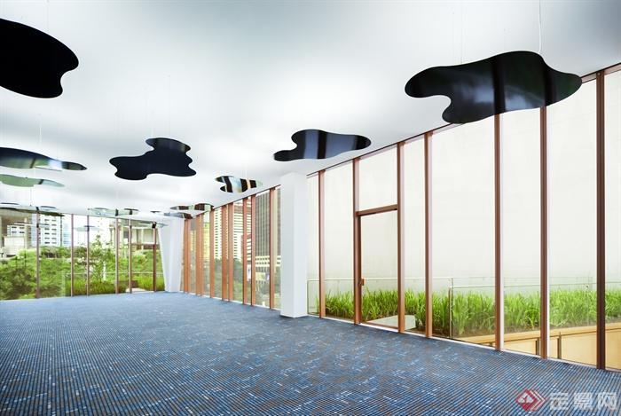 多张张绿化景观设计实景图-阳光房-设计师图库