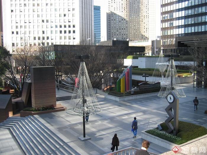 商业环境,景观小品,雕塑