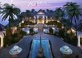 酒店,噴泉水池,酒店景觀