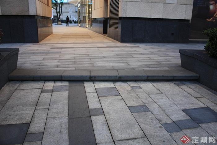 城市景观节点设计图-地面铺装-设计师图库