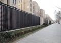 围墙,围栏,栏杆,花池,道路