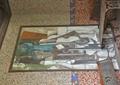 装饰画,座椅,桌子,马赛克砖