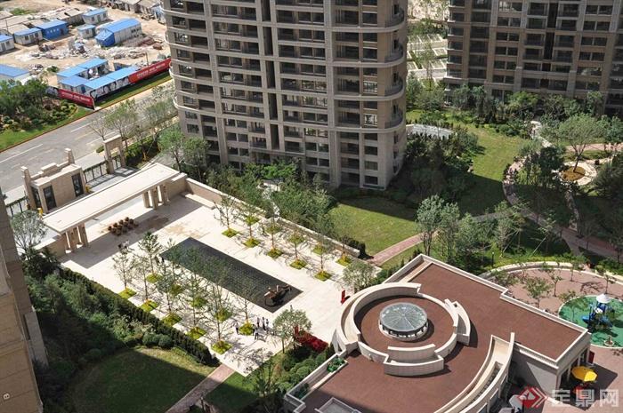 新古典风格小区景观-住宅景观小区景观大门-设计师