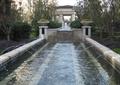 喷泉水景,景观水池,跌水景观,花钵柱