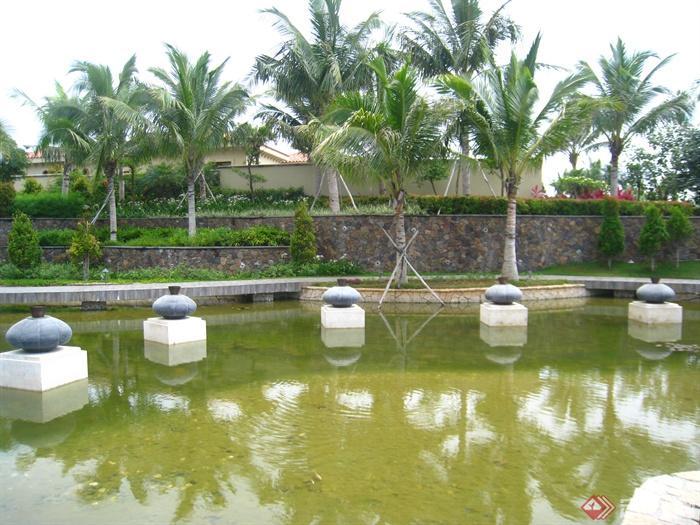 景观水池,雕塑水景