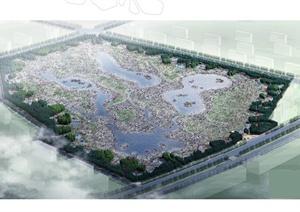 某生态湿地公园景观方案设计