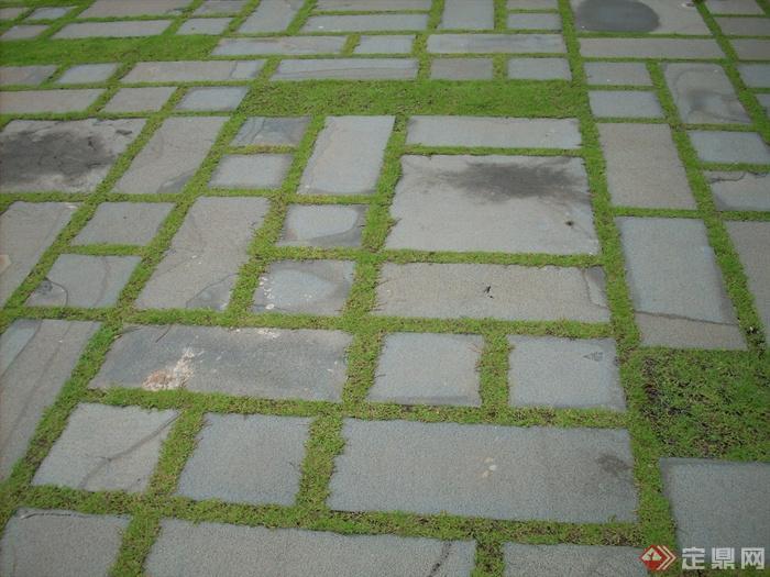 园林道路景观设计图-地面铺装-设计师图库