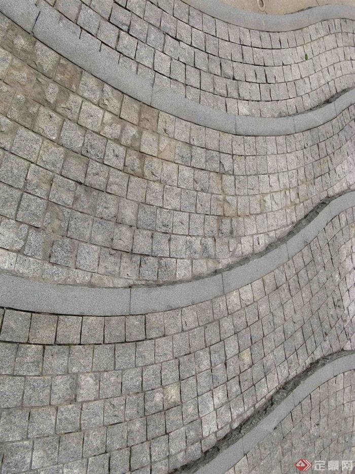 绿城杭州翡翠城景观实景-铺装石材铺装-设计师图库
