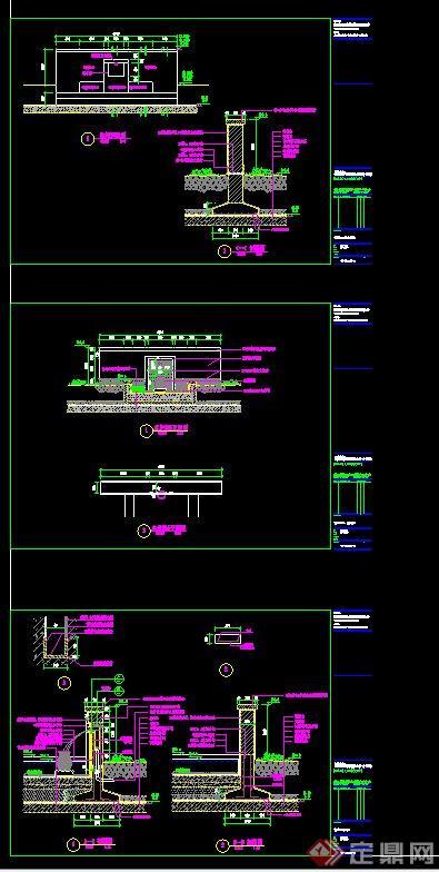 水景墙设计CAD施工图