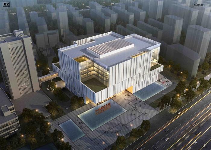 现代图书馆建筑设计方案(含效果),方案包括CAD图纸(建筑立面图、各层平面图、总体平面图)、JPG方案(彩平图、交通分析、建筑平面、建筑立面),设计简洁完整,可供建筑设计参考使用。