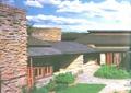 庭院,庭院景觀,草坪,建筑設計