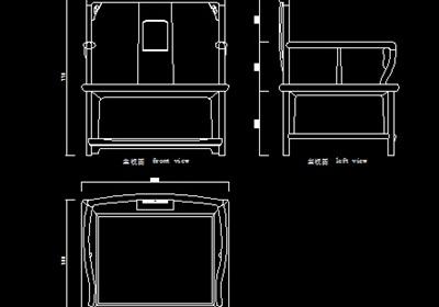 明清家具设计CAD图库