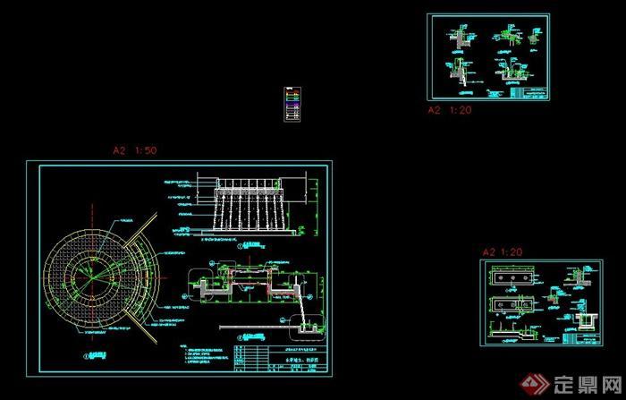 特色水景墙设计施工图