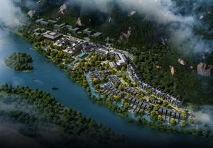 廣西陽朔-五星級酒店設計