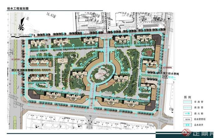 某商业住宅小区建筑设计规划方案[原创]