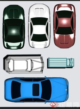 三张汽车平面PS素材(1)