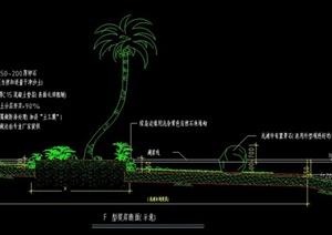 园林自然驳岸设计CAD施工图