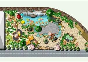 其他psd园林景观设计方案效果图设计素材教学资料下载图片
