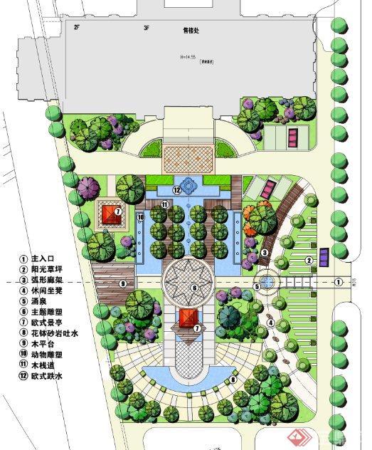 香山美墅7栋6d平面图_平面设计图图片