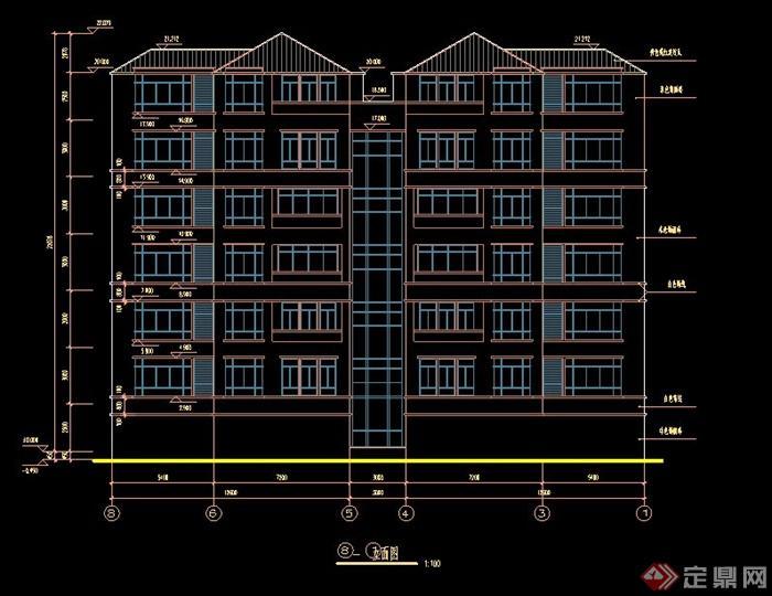 復式公寓建筑設計CAD施工圖,包含了建筑立剖面圖,樓層平面圖,樓梯等節點詳圖,制作詳細,具有一定的參考價值,有需要的朋友可自行下載。