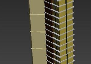 某景观柱设计3DMAX模型