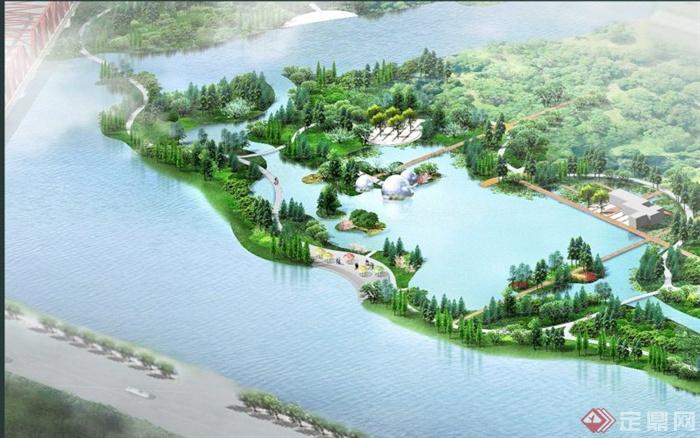 某滨水公园景观方案设计文本[原创]