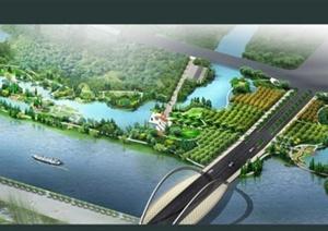 某滨水公园景观方案设计文本