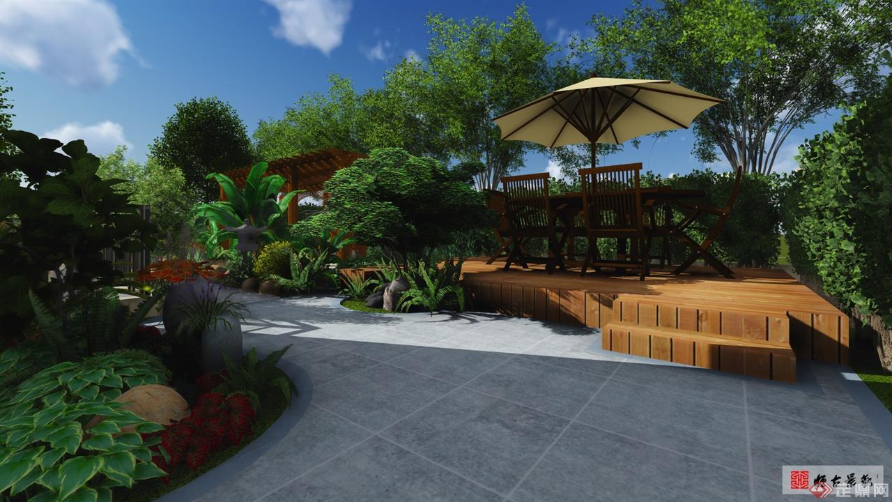 龙湖庭院景观设计-圆海文化.禅意网